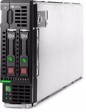 HP BL460c GEN8 G8 servidor de hoja 2 X E5-2680 de ocho núcleos 192 GB de RAM 2 X 300 GB 15k