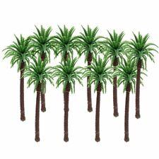 10Pcs/Set Palm Trees Coconut Rainforest Model Beach Railway Scenery Layout 1:100