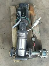 Grundfos Model A96605195 P10542475 Type Cri10 06 Fb Fg J I F Hqqe Pump