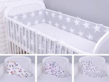 Bettumrandung Nestchen Kopfschutz 420x30, 360, 210, 180 Bettnestchen Baby NEU
