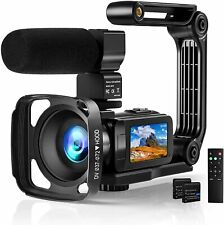 Digital Video Camera 2.7K Camcorder 36MP Vlogging Youtube 3