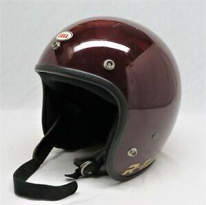 Vintage Bell RT Burgundy Helmet / Must See / Very Good Used Condition