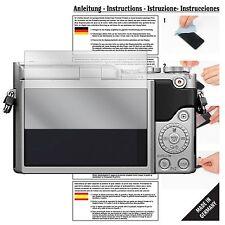 6x Pellicola protettiva per Panasonic Lumix dmc-gx800 Pellicola Proteggi Schermo Chiaro