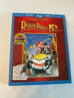 Who Framed Roger Rabbit w/ Slipcover (Bluray/DVD, 1988) [BUY 2 GET 1]