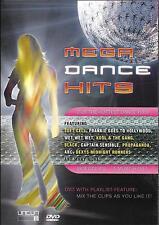 DVD 12 CLIPS MEGA DANCE HITS SOFT CELL/BLACK/KOOL & THE GANG/WET WET WET/ABC