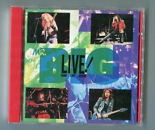 Mr. Big cd EP - LIVE! RAW LIKE SUSHI © 190 Made in Japan AMCY-159 - 6-track-CD