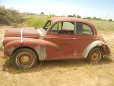 Vintage 1953 Morris Minor 2 dr Coupe For Restoration or Parts Series II