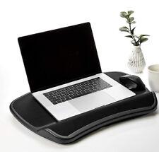 AmazonBasics XL Laptop Lap Desk Tray With Cushion, Fits Up To 17.3 Inch Laptops