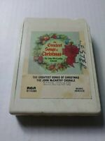 The Greatest Songs Of Christmas The John McCarthy Chorale 8 Track Tape Cartridge