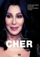 CHER - STRONG ENOUGH  DVD NEW!