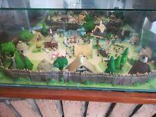 Village Asterix Complet. Edition Atlas 2000 Plastoy 76 Figurines De Plomb