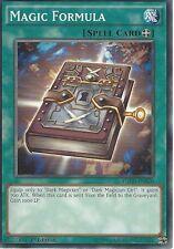 3 X YU-GI-OH: MAGIC FORMULA - YGLD-ENB20 - 1st EDITION