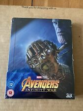 Avengers: Infinity War 3DExclusive Limited Edition Steelbook Brand NEW & SEALED