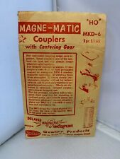 VINTAGE Magne-Matic Couplers MKD-6 - HO Scale Detail Part - Kadee