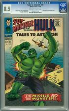 Tales to Astonish #85 CGC 8.5 (OW-W) Hulk appears in Sub-Mariner story.