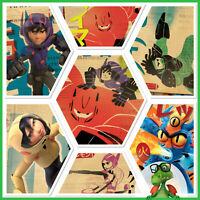 Disney Collect Topps Digital Big Hero 6 Parchment Propaganda Cards w/award - GDL