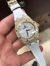 Audemars Piguet Royal Oak Lady Quartz Ladies Gold Diamond 67605BA.ZZ.D080SU.01