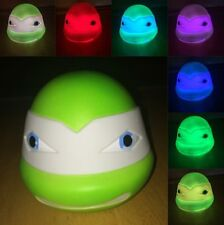 Boys Teenage Mutant Ninja Turtles/TMNT Colour Changing LED Night Light ~Portable