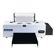 Dtf Flatbed Printer Direct To Film Home Business With Roller Feeder Batch Printing