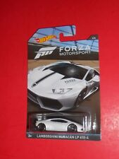 HOT WHEELS 2017 FORZA MOTORSPORT 4/6 LAMBORGHINI HURACAN LP 610-4 SHIPS FREE