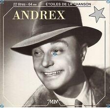 ANDREX bébert CD (412) les etoiles de la chanson