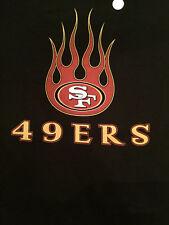 San Francisco 49ers NFL Football Long Sleeve Burner Shirt - Large