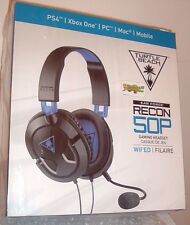 Turtle Beach Ear Force Recon 50P Gaming Headset PS4/Xbox One/Mac/PC DVD/PSvita