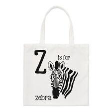 Lettre Z est pour Zèbre PETIT SAC FOURRE-TOUT - ALPHABET MIGNON ANIMAL DRÔLE