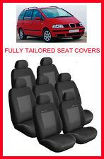 Tailored Fundas De Asiento Para Seat Alhambra 1996-2010 Set Completo 7 asientos grey3