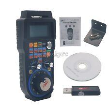 6 ejes prelimpieza USB inalámbrico Mach 3 Remoto MPG pendiente CNC Colgante USB volante geschützt