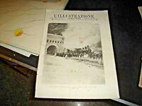 rivista L'ILLUSTRAZIONE ITALIANA anno XXIII° N. 5 - 4/2/1906 LOCOMOTIVA SEMPIONE