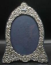 """Beautiful JBL John Bull LTD Sterling Silver 13"""" Tall Art Deco Picture Frame"""