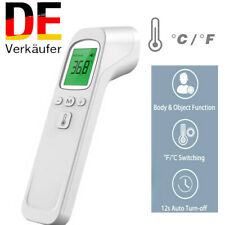 1STK Digital Infrarot Fieberthermometer Stirn Ohr Kontaktlos Baby Erwachsene DE
