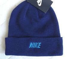 New NIKE Deep Purple Cuff Beanie Hat Toque Unisex  Mens Womens
