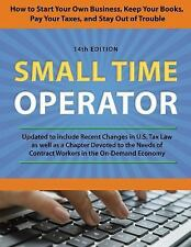 Small Time Operator : How to Stapb by Bernard B. Kamoroff (2016, Paperback)
