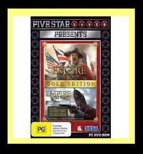 Total War Empire Gold Edition Game PC 100% Brand New
