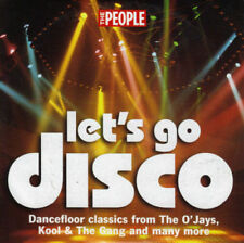 LET'S GO DISCO - PROMO CD: O'JAYS, KOOL & THE GANG, BACCARA, YVONNE ELLIMAN ETC