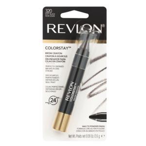 Revlon ColorStay™ Brow Crayon - 320 Soft Black