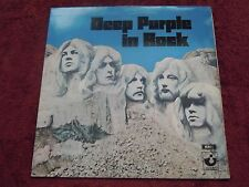 Deep Purple In Rock Harvest Records UK First Pressing A/2 B/1 No EMI on LP EX+