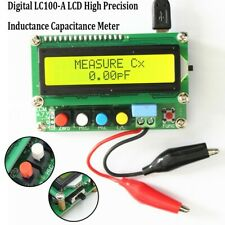 Lc100 A Lcd High Precision Inductance Capacitance Lc Digital Meter Tester