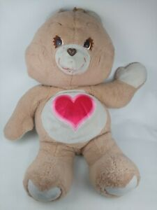 """Vintage Kenner 1984 Giant 36"""" Large Tenderheart Care Bear Plush Rare Huge Jumbo"""