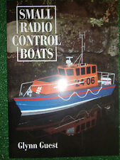 Small Radio Control Boats R/C Rc BUILD PLANS BOOK GUIDE MANUAL By Glynn Guest