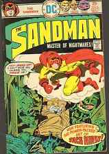 Sandman #4 - Kirby/Simon! - 1975 (Grade 6.5) WH