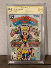 Wonder Woman #1 CGC SS 9.4 Signed by Legendary Artist George Perez!! 1984 Movie!