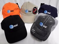 AT&T EMPLOYEE UNIFORM LOGO EMBROIDERED COTTON UNSTRUCTURED TWILL CAP HAT