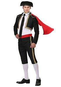 Adult Mighty Matador Bullfighter Costume SIZE M (Used)