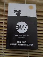 EW Mid 1991 PROMO Various Artists RETRO compilation MIX cassette Tape