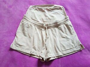H&M Mama maternity Size M over bump shorts - Cream