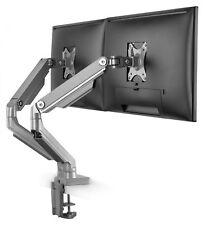 """RICOO Dual Monitor Tischhalterung neigbar schwenkbar klappbar 17""""-32"""" TS8811"""