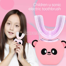 Children's Electric Toothbrush Intelligent Automatic Mouth-mounted U-shaped SALE